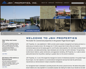 JSH Properties Website