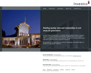 Investco Properties Website
