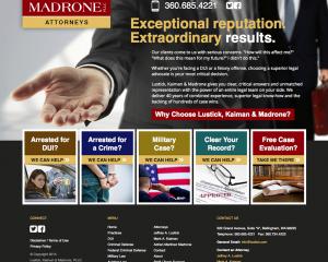Lustick, Kaiman & Madrone Website