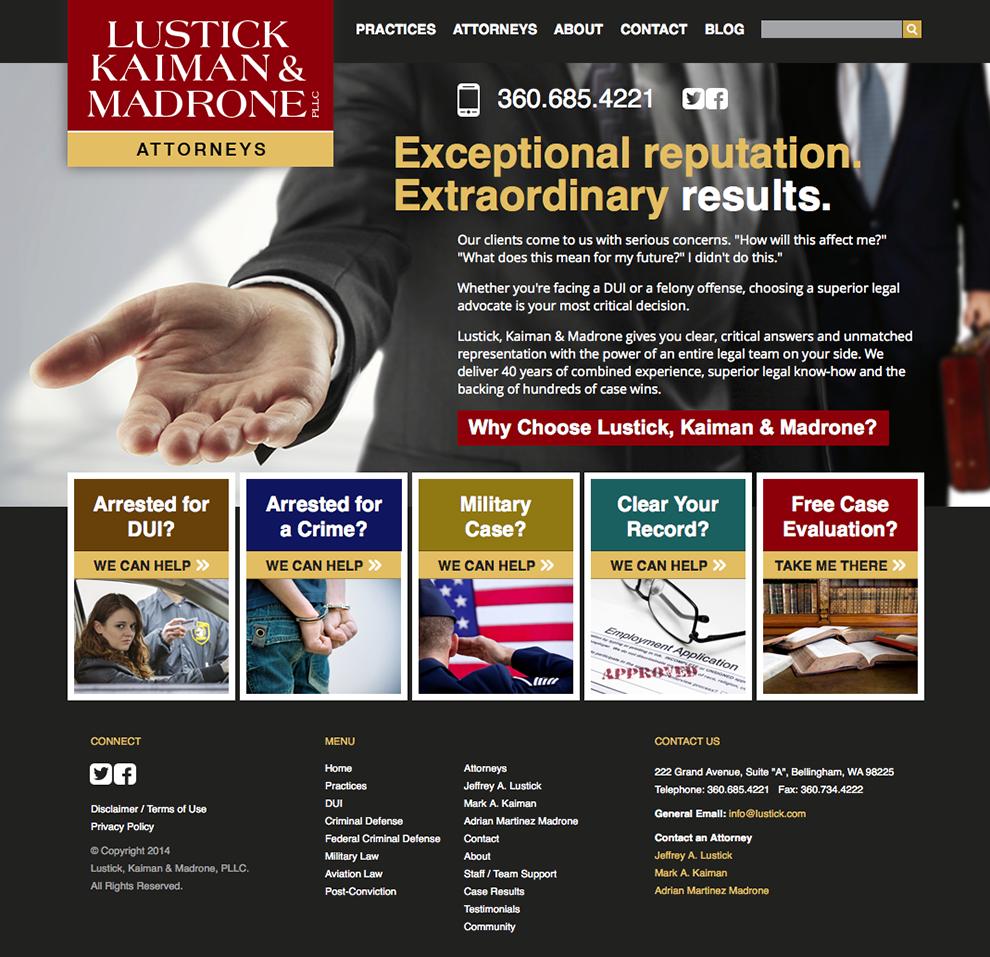 lustick_website