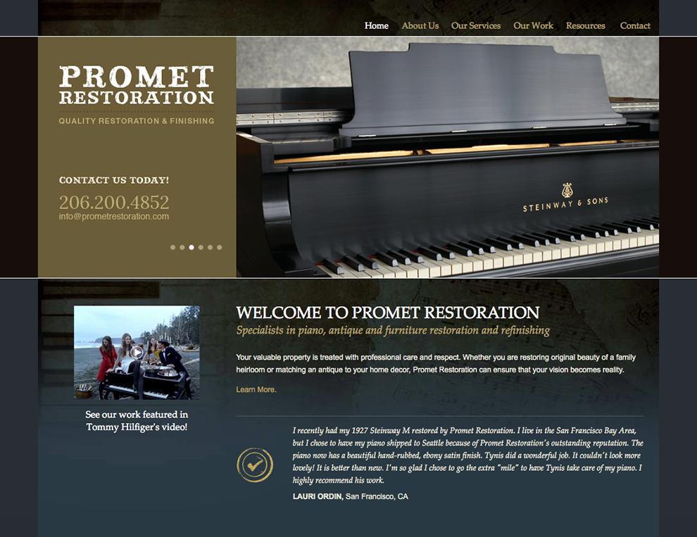Promet Restoration Website