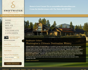Swiftwater Cellars Website